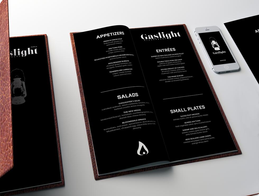 Gaslight Menu 2