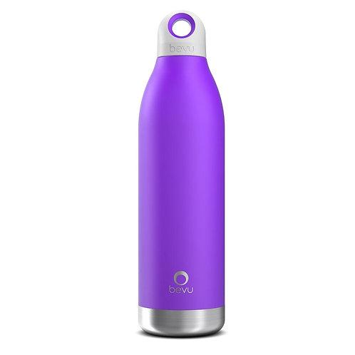 Bevu® DUO Insulated Bottle Violet. 550ml / 18oz