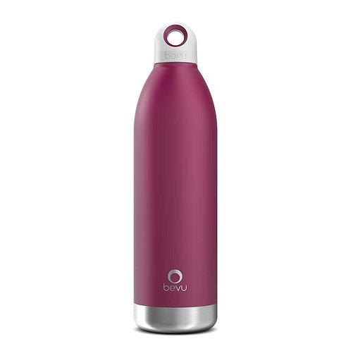 Bevu® DUO Insulated Bottle Plum. 750ml / 25oz