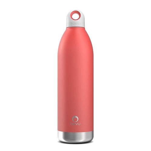 Bevu® DUO Insulated Bottle Coral.   750ml / 25oz