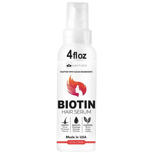 Sunytizer Biotin Hair Growth Serum - Made in USA