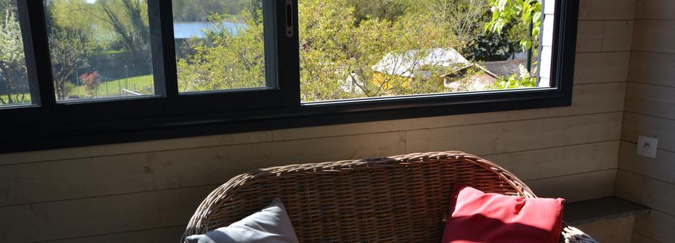 Jolie vue depuis la véranda