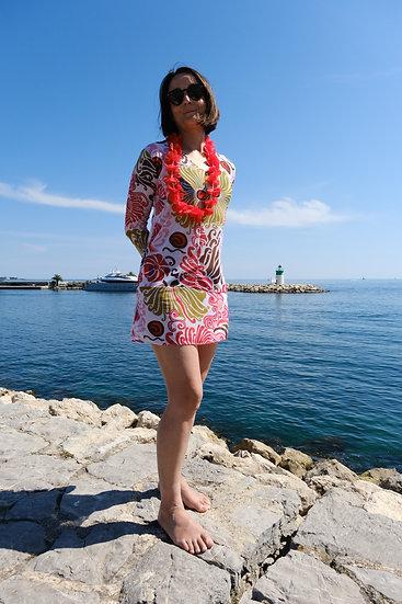 BEACH DRESS FLORAL