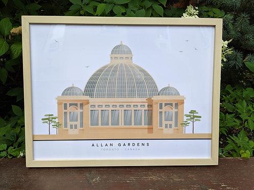 Allan Gardens Print- By Studio324
