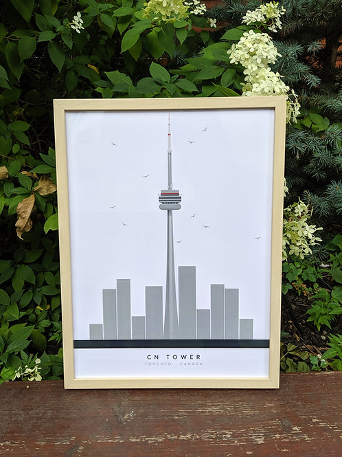 Toronto Skyline Print