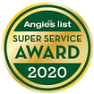 Angies List Super Service Award 2020
