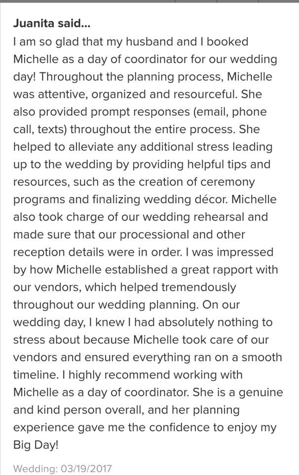 It Pays To Have a NJ Wedding Planner