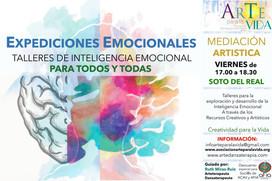 cartel taller EXPEDICINES EMOCIONALES 2.
