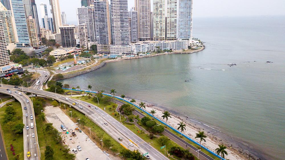 Avenida Balboa, Ciudad de Panamá.