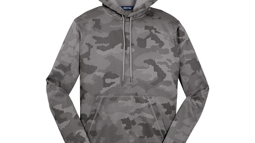 Hockey ST240/YST240 Camohex Hoodie With Name/Number