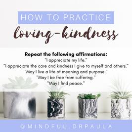 Loving-Kindness Meditation Instagram Post