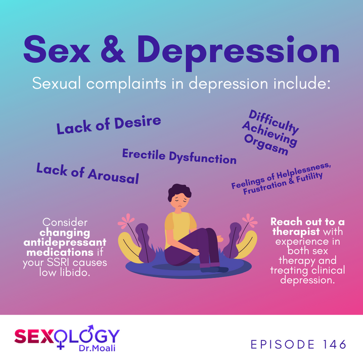 Sex and Depression Infographic