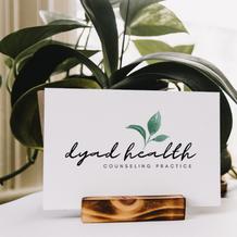 Dyad Health Logo Design