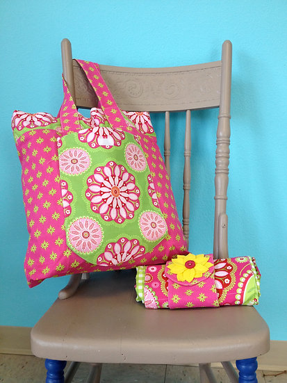Bag Lady- New Market Tote