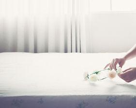 White Flower Mattress