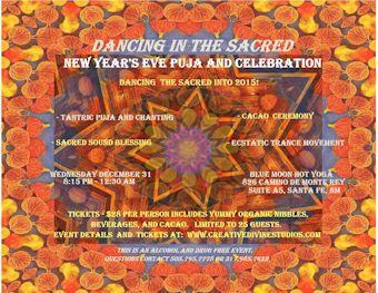 New Years Celebration flyer