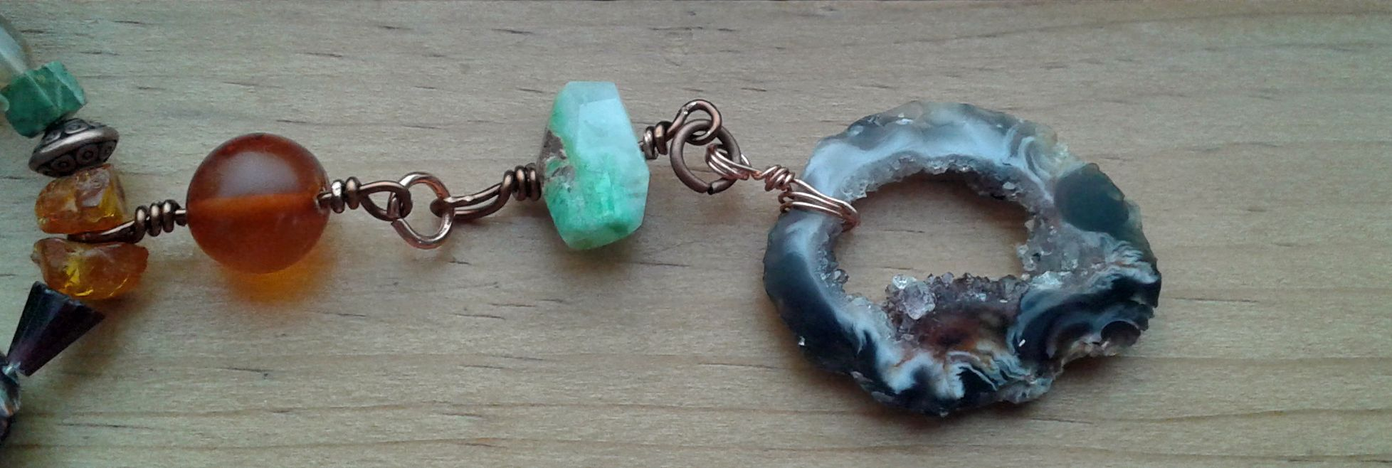and Chrysoprase Necklace