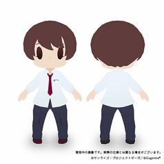 舞浜南高校男子制服_化体