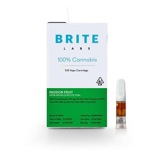 Brite Labs - PASSION FRUIT [600mg] - Oil Cartridge