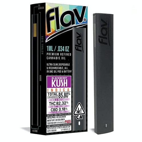 Flav Rechargeable Disposable Pen - Blackberry Kush
