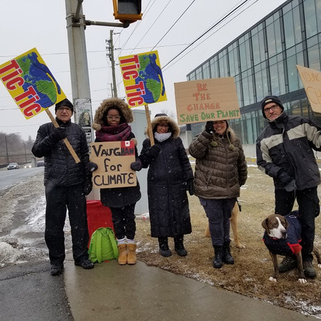 Friday Mar 6, 3:30pm - Weekly Youth Climate Rally, Vaughan