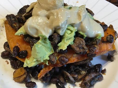 Topped Sweet Potato Recipe