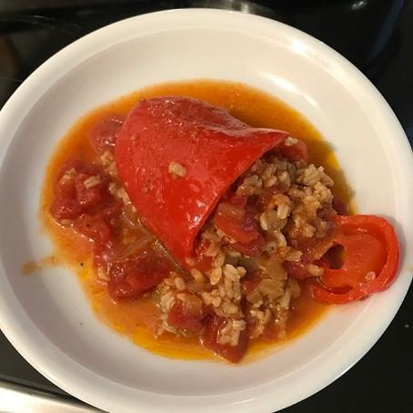 Vegan Stuffed Bell Peppers Recipe