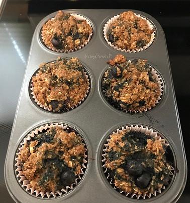 Vegan Blueberry Bran Muffins