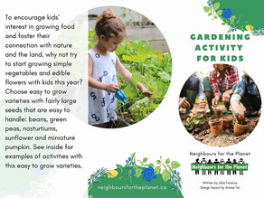 Gardening Activity for Kids