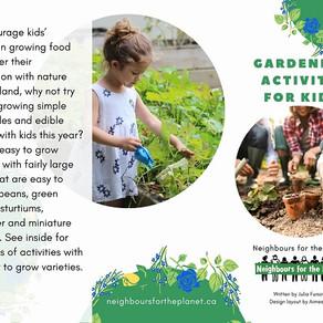 Gardening Activity for Kids