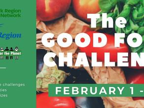 The Good Food Challenge!
