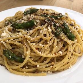 Asparagus Pasta by Robin Enotera