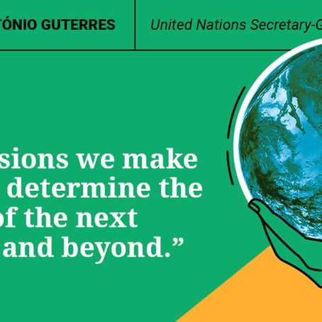 The UN Secretary-General speaks on the state of the planet