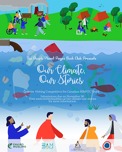 Our Climate Our Stories Competition by the People Planet Pages Book Club