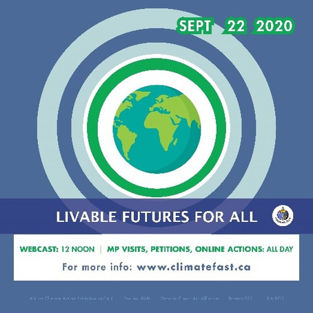 Sept 22 - LIVABLE FUTURES FOR ALL!