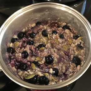 Homemade Oatmeal by Brian Charles
