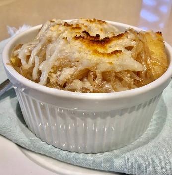 VEGAN French Onion Soup by Robin Enotera