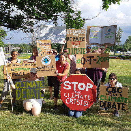 Wed July 17, 2019 - Change the Debate - Day of Action in Richmond Hill