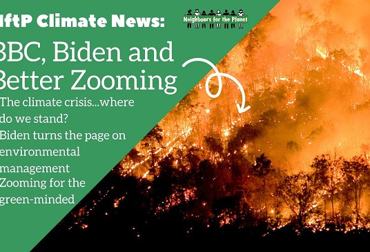 NftP Climate News: BBC, Biden and Better Zooming