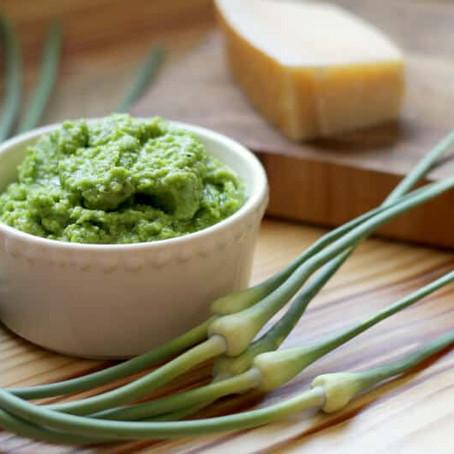 Garlic Scape Pesto Recipe