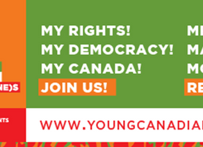Sat Oct 24, 1:30pm - Young Canadian's Parliament - Anti-Black racism