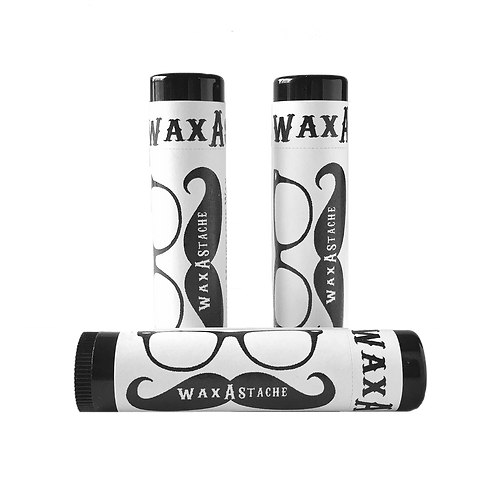 Wax-A-Stache Travel Tube 3-Pack