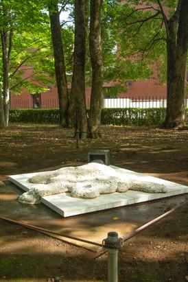 東京都知事賞 2019年5月〜2020年3月 上野公園内「芸術の散歩道」にて一年間野外に設置をした