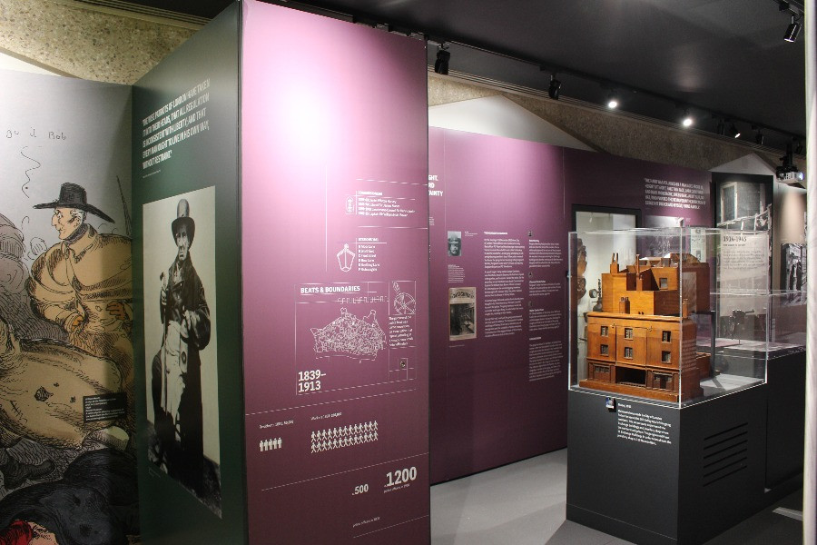 Inside the City of LOndo Police Museum