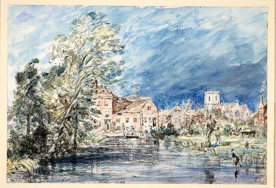 Fisherton Mill by John Constable