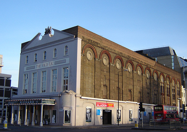 The outside of the Old Vic Theatre