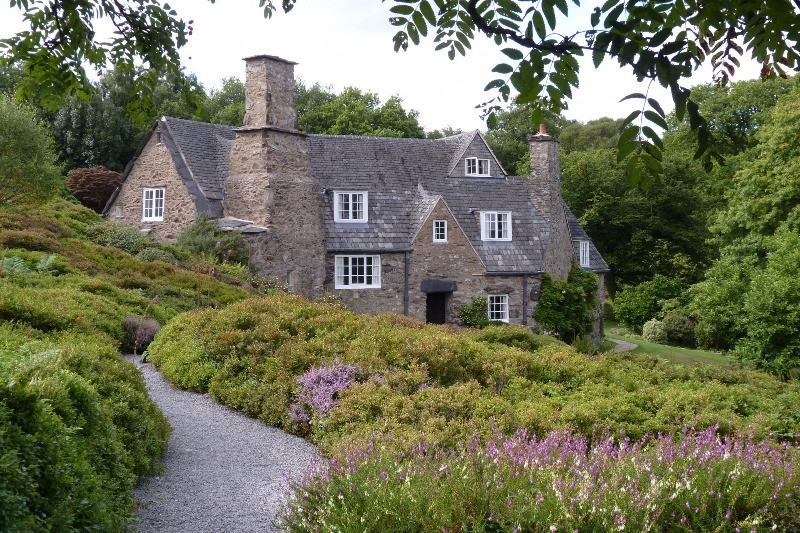 Stoneywell Arts and Crafts house set in beautiful gardens.