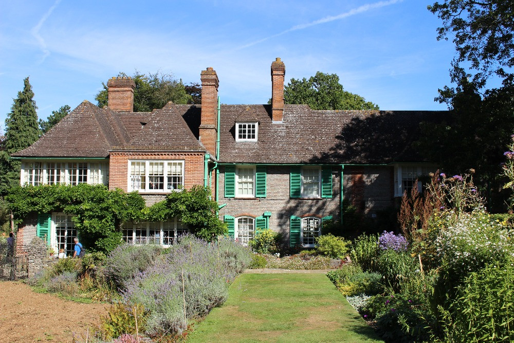The back garden and Nuffield Place
