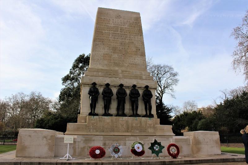 The Guards Memorial in London.