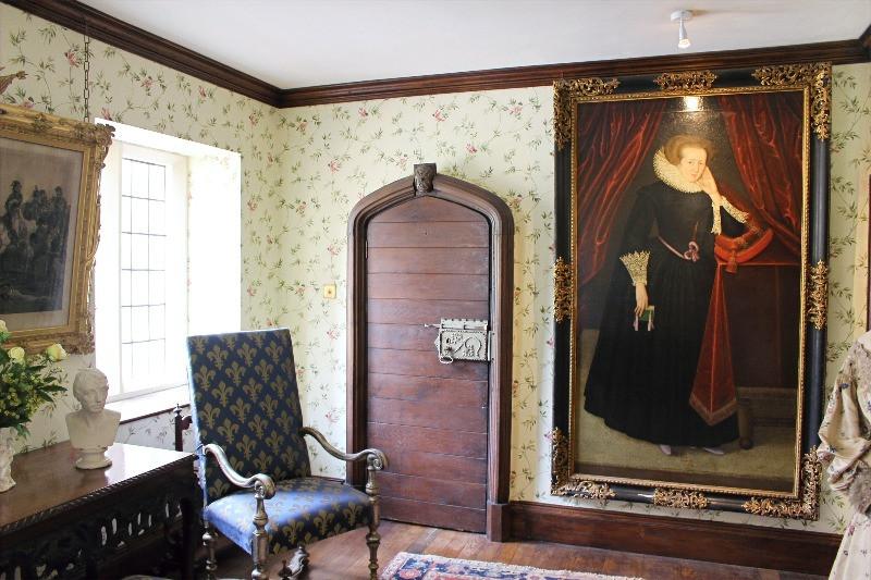 Inside a room at Athelhampton House